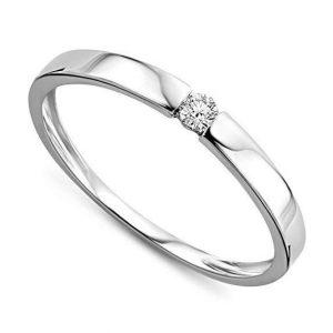 Anillo de diamante elegante