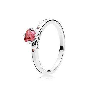 Anillo Pandora con piedra preciosa