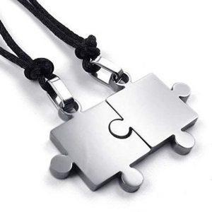 Colgante hombre puzzle