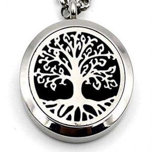 Collar largo del árbol de la vida