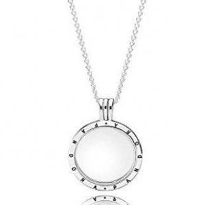 Collar Pandora con medallón