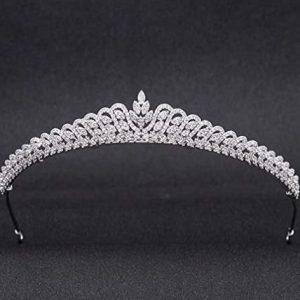 Diadema para boda de plata