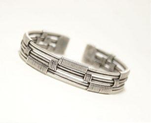pulseras de plata mujer