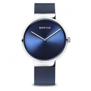 Reloj moderno de mujer de acero inoxidable